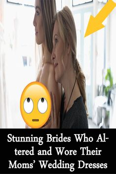 Stunning Brides Who Altered and Wore Their Moms' Wedding Dresses Wedding Guest Looks, Bridal Looks, Bridal Style, Wedding Dress Pictures, Wedding Dresses, Inspirational Qoutes, Pinterest Photos, Wedding Dress Shopping, Beautiful Bride