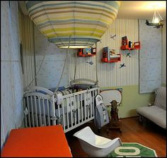 hot air balloon decorations for bedrooms babybedroomshotairballoons - Hot Bedroom Designs