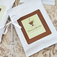 A Lovely Mix Personalized Hot Cappuccino Mix + Optional Heart whisk