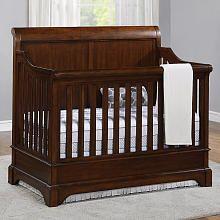 Bertini Pembrooke 4-in-1 Convertible Crib - Dark Walnut