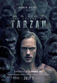 The Legend of Tarzan movie poster Fantastic Movie posters #SciFi movie posters #Horror movie posters #Action movie posters #Drama movie posters #Fantasy movie posters #Animation movie Posters