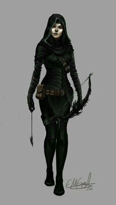Fuck Yeah Warrior Women — we-are-rogue: crop from Marrovick and Ender by. Dnd Characters, Fantasy Characters, Female Characters, Character Creation, Character Concept, Character Art, Character Portraits, Character Outfits, Anime Outfits