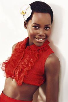 Win Lupita Nyong'o's Lancôme beauty bag | Harper's Bazaar