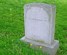 How to clean headstones.
