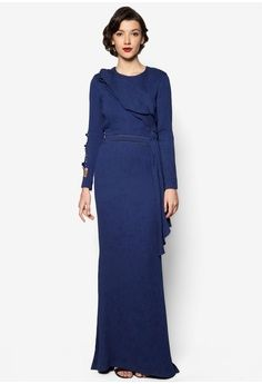 Katie Dress from Jovian Mandagie for Zalora in blue_1