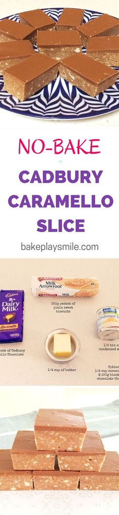 This is the easiest slice I've ever made and it tastes so good! Caramello Slice is one of my favourite things to make... and it takes less than 10 minutes!