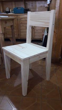Wood Chair Design, Wood Design, Furniture Design, Refurbished Furniture, Metal Furniture, Outdoor Furniture, Pallet Dining Table, Outdoor Chairs, Outdoor Decor