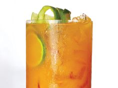 This is a turmeric-laced twist on a Dark and Stormy, the classic dark rum and…