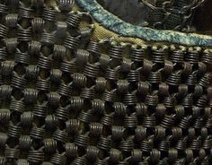 Close up view of a rare kusari pattern.