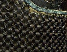 Close up view of a rare kusari pattern.