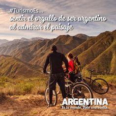 #Turismoes... Sentir el orgullo de ser argentino al admirar nuestro paisaje!  #DiaMundialDelTurismo #Argentina #WTD2015 #ArgentinaEsTuMundo Date una vuelta! Mountains, Nature, Travel, Tourism, Buenos Aires Argentina, Paisajes, Viajes, Naturaleza, Destinations