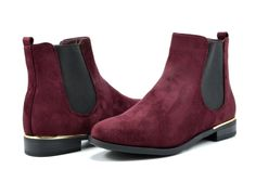 Amazon.com: DREAM PAIRS CHESNEY Women's Stylish Faux Suede Elastic Side Panel Ankle Riding Booties Shoes: Clothing