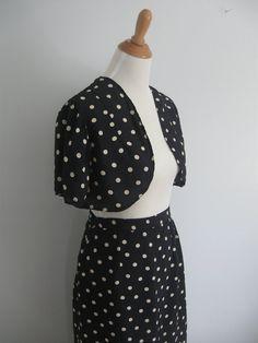1930s skirt and bolero