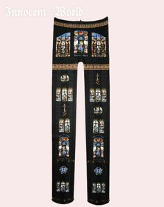 Innocent World Ave Maria Stained Glass Tights