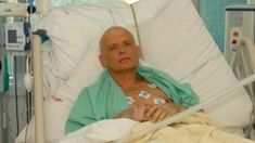 Former Russian Agent Poisoned In London: Alexander Litvinenko is pictured at the Intensive Care Unit , ICU of University College Hospital, UCH