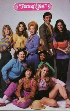 Facts Of Life....original cast, missing my favorite, Jo