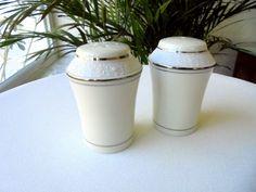 Sone China Mars 3301 Salt and Pepper Shakers MINT #SoneChina