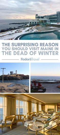 The Surprising Reason You Should Visit Maine in the Dead of Winter England Winter, New England, Vacation Places, Vacation Travel, Maine Winter, Visit Maine, Travel Inspiration, Travel Ideas, Winter Travel