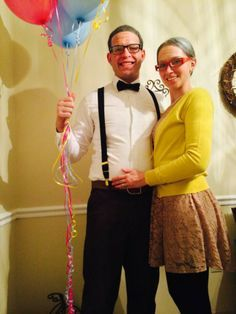 carl and ellie halloween costume  sc 1 st  Pinterest & Disney Up Carl and Ellie costumes- shouldnu0027t be too difficult. Him ...