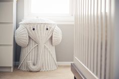 Elephant Hamper from Home Decorators - #nursery #kidsroom
