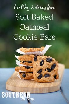 This Healthy Soft Baked Oatmeal Cookie Recipe only requires one bowl and a spoon - an easy melt and mix recipe with no need for chilling! Low fat, gluten free, clean eating friendly, dairy free, nut free, refined sugar free option and vegan option.