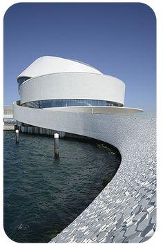 Architecture Artists, Unique Architecture, Concept Architecture, Oslo, Places In Portugal, Fantasy House, Futuristic Design, Facade Design, Lisbon