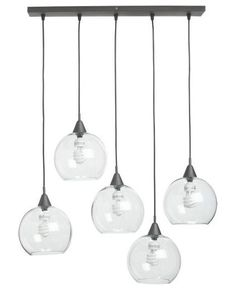 modern pendant lighting by CB2. Would be awesome over our kitchen table