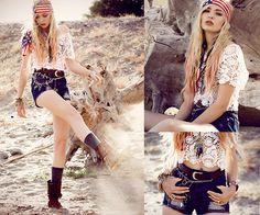 American hipster girl