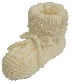 Ravelry: Free Circular Seamless Baby Bootees pattern by Megan Mills