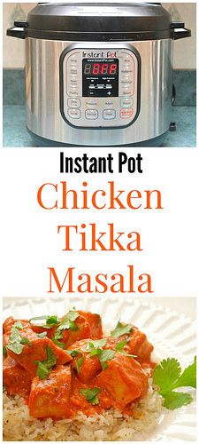 Instant Pot Chicken Tikka Masala is extremely flavorful and so moist/juicy, thanks to the yogurt it marinates in. The beautifully rich masala sauce is spiced perfectly and has a hint of sweetness. Serve over rice for one amazing meal!