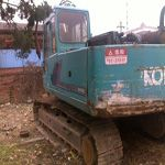 The used excavator Kobelco CA 25 is a typical type of heavy machines sold well in our company. It has a go...