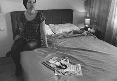 Remake de Cindy Sherman - Untitled film still #33 (http://une-annee-photo.blogspot.it)