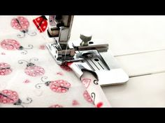 (104) How to use a wide hem foot - quick sewing tips and tutorial from Linda Forager at sewing bee fabrics - YouTube