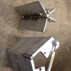As it turns out, I rarely find myself welding right angles, so I needed these jigs to weld up the things I designed. In addition, aluminum is a great heat sink and won't get welded to the parts I'm welding, as long as I'm working in steel.