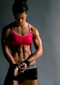 Female bodybuilding  - Tag, Share, Tweet and Pin .Get more motivated at http://www.fitbys.com Sports and Gymwear