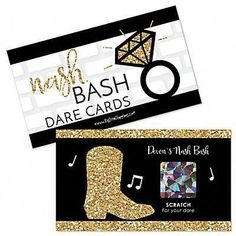 Nash Bash – Nashville Bachelorette Party Game Scratch Off Dare Cards – 22 ct – Anniversary Teenage Party Games, Childrens Party Games, Beach Party Games, Tween Party Games, Bridal Party Games, Princess Party Games, Backyard Party Games, Engagement Party Games, Dinner Party Games