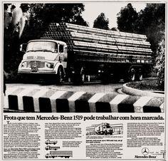 Anúncio caminhão Mercedes-Benz 1519 - 1979