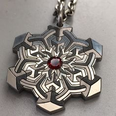 Sacred Geometry Engraved Jewelry