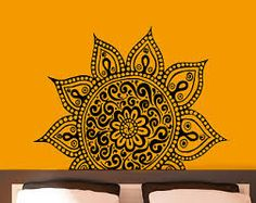 Image result for indian design wall decals