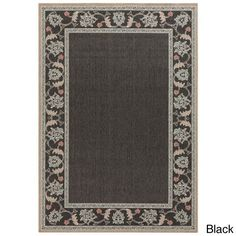 Meticulously Woven Jemma ed Floral Indoor/Outdoor Area Rug