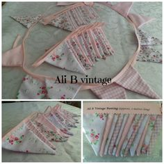 BUNTING Pink - The Supermums Craft Fair
