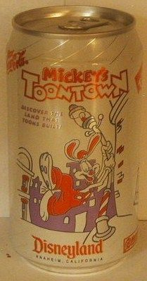 Mickey's Toontown Disneyland Can