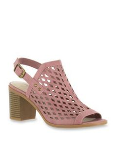 Easy Street Dusty Rose Erin Sandal