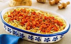 Esparguete à Bolonhesa ~ Cozinha Divinal