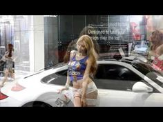 2016 서울 오토살롱 한지은 2016 SAS Seoul Auto Salon Han Ji Eun - YouTube