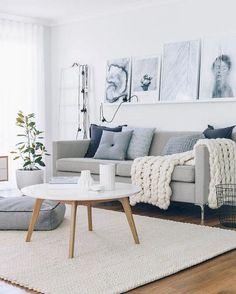 46 Admirable Scandinavian Living Room Design Ideas Nordic Style - Ikea DIY - The best IKEA hacks all in one place Scandinavian Interior Living Room, Nordic Living Room, Living Room Modern, Home Living Room, Apartment Living, Interior Design Living Room, Living Room Designs, Living Room Decor, Rustic Apartment