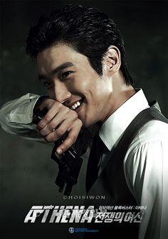 Choi Siwon in Athena