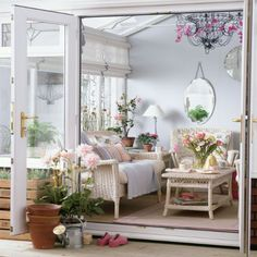 Go for vintage style | Conservatory decorating ideas