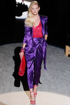 Love purple! Salvatore Ferragamo Spring 2012 Spring Ready-to-Wear