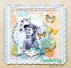 Modeling ~Webster`s Pages~ - Scrapbook.com